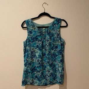 Cute Coldwater Creek Floral Tank - Size 4-6